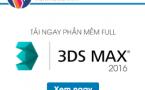 Download 3Ds Max 2016 – Hướng dẫn tải và cài đặt 3Ds Max 2016